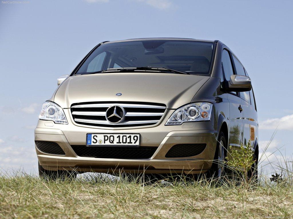 Mercedes Benz Viano van front view