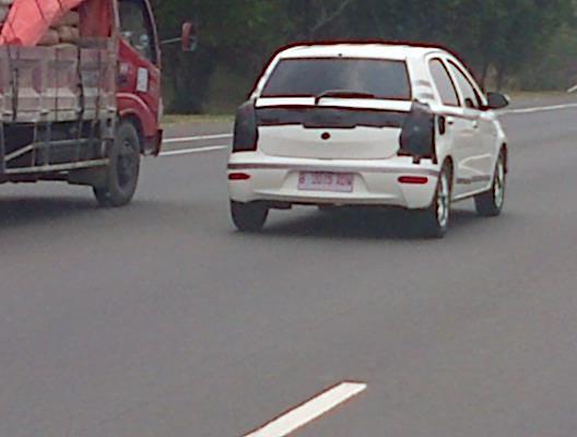 Toyota Etios Liva caught in Indonesia