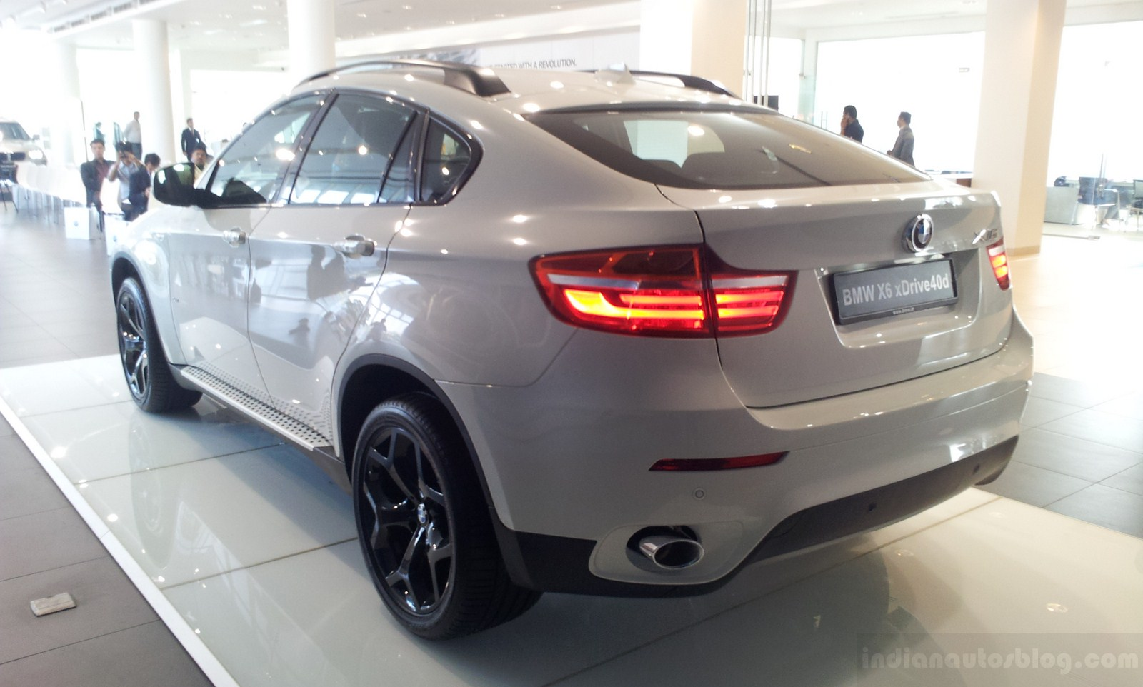 BMW X6 Facelift India Coupeish Rear