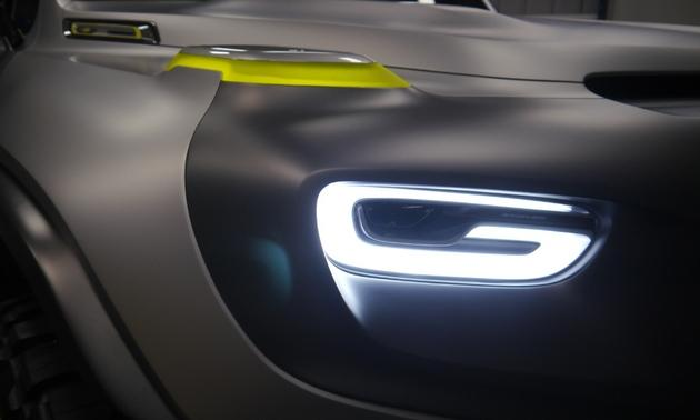 Ener-G-Force Concept headlamps