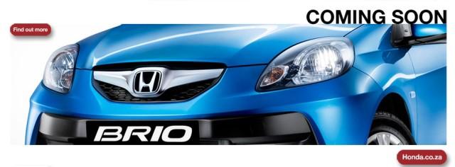 Honda Brio South Africa