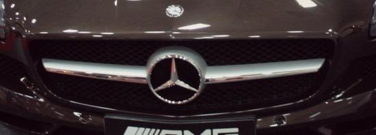 Mercedes SLS AMG grill