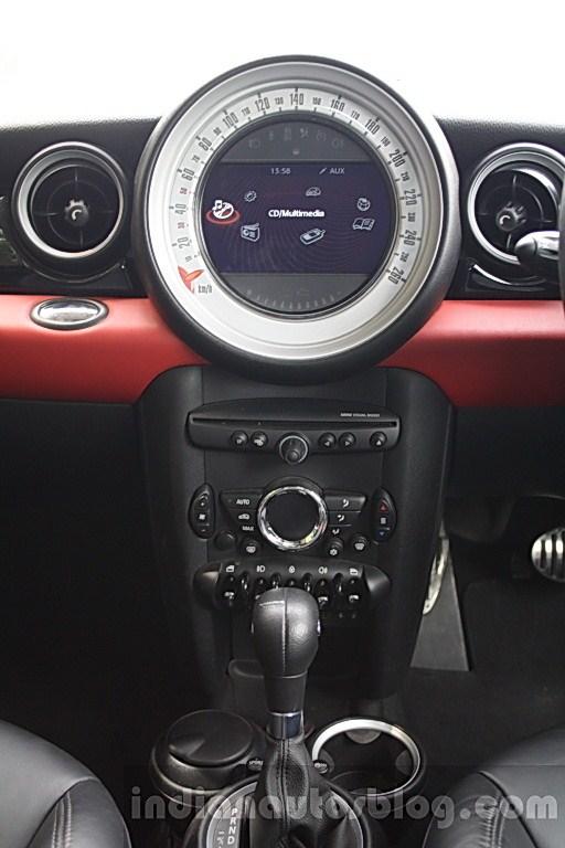 Mini Cooper S center console