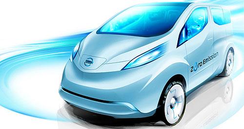 Nissan e-LCV sketch