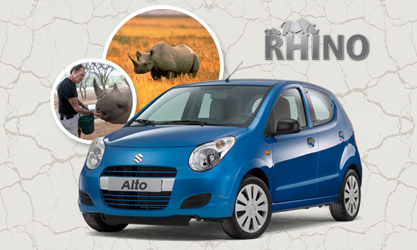 Suzuki Alto Rhino front three quarters
