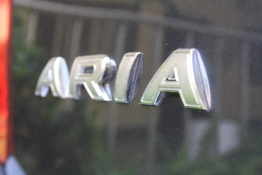 Tata Aria badge