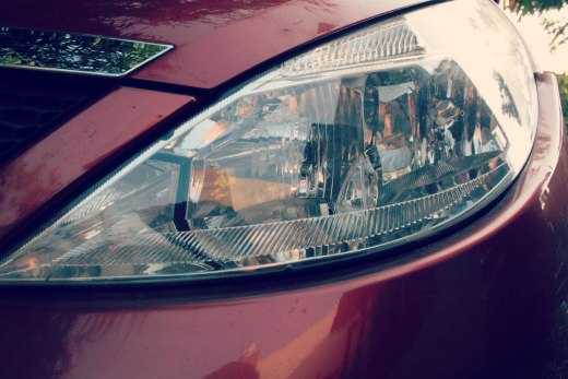 Tata Indica Vista headlight