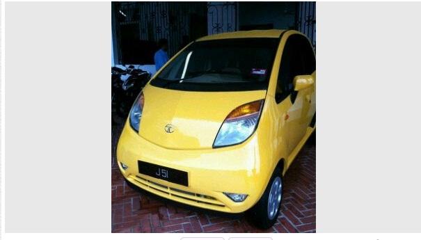 Tata Nano spotted in Johor Malaysia