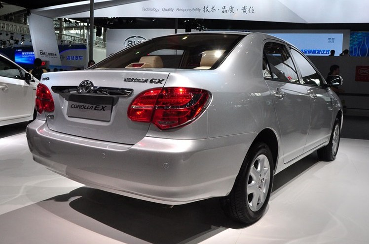 Facelifted Toyota Corolla Ex Launched At Guangzhou