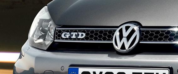 VW GTD badge