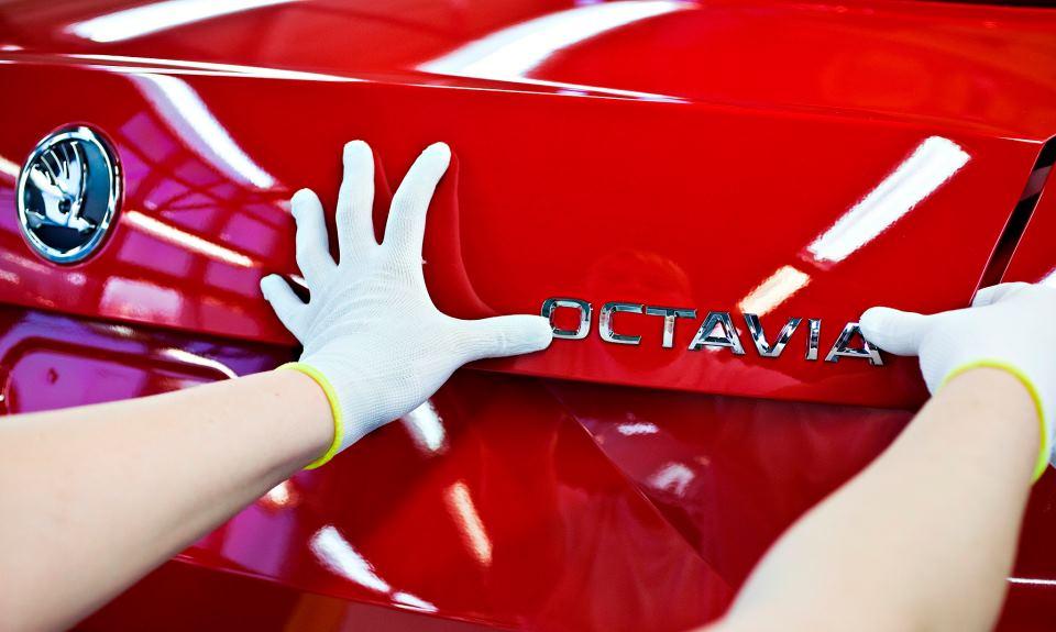 2013 Skoda Octavia enters production