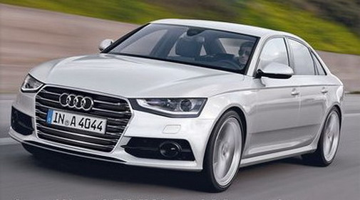 2014 Audi A4 Rendering