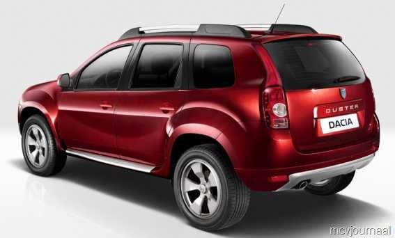 2015 Dacia Duster facelift rear