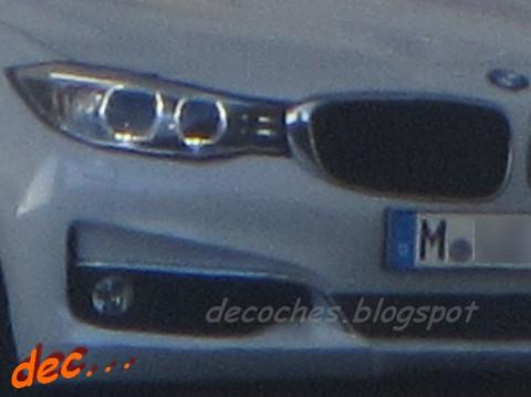 BMW 3 Series GT front fascia