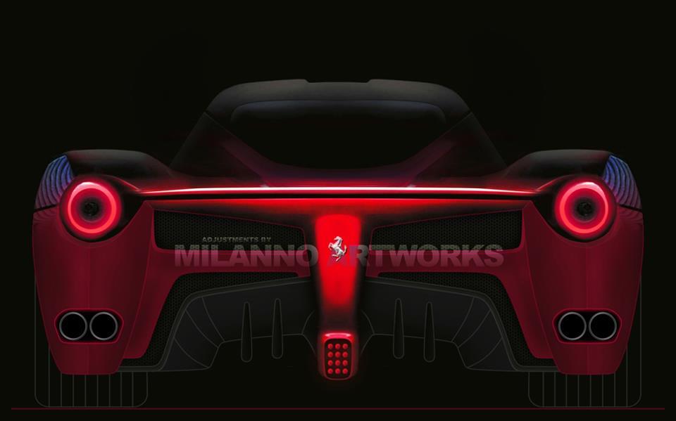 Ferrari F70 Teaser by Milanno Artworks