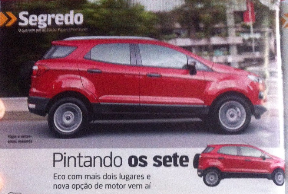 High Quality Ford EcoSport 7 Seater Brazilian Market