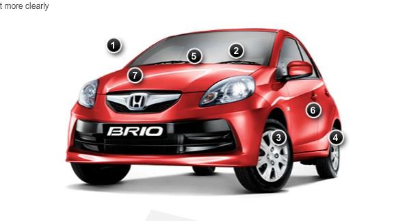 Honda Brio hits South Africa