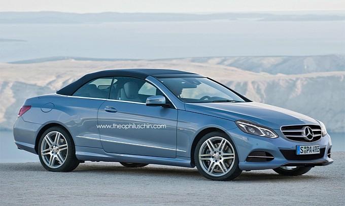 New Mercedes E Class Cabriolet