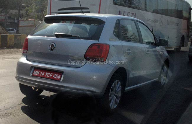VW Polo TSI testing in Pune