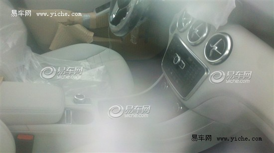 mercedes A Class china spyshot beige interior