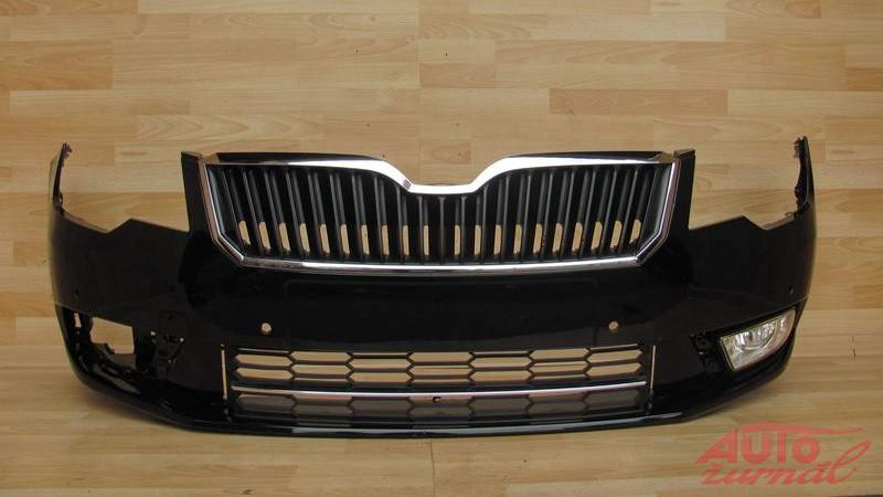 Skoda superb facelift front bumper
