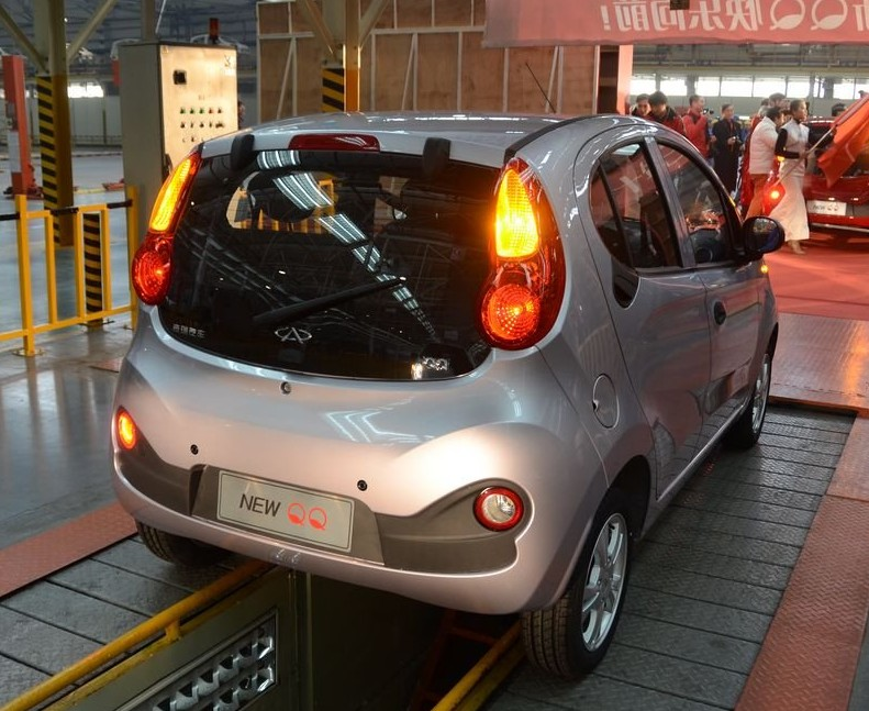 Next generation Chery QQ enters production in China