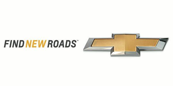 Chevrolet Find New Roads slogan