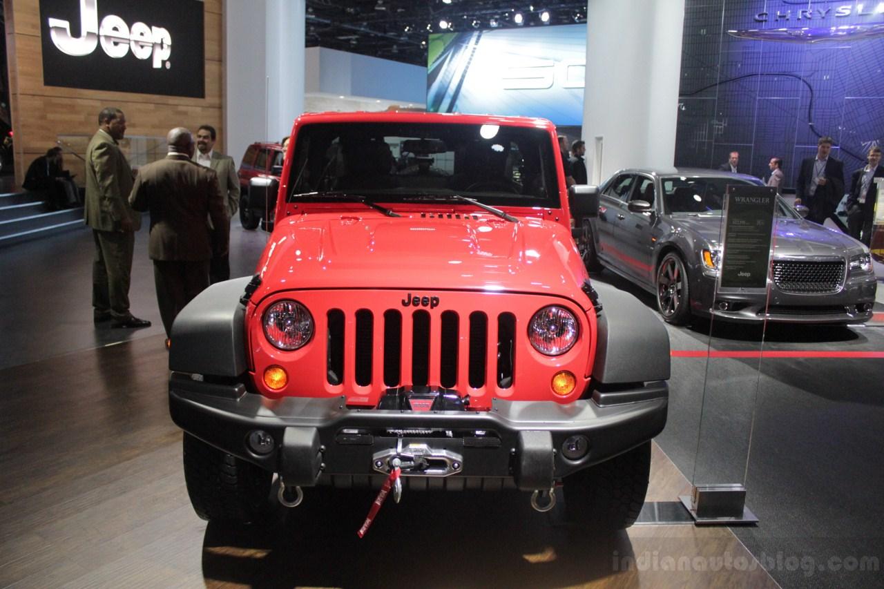 Jeep Wrangler Moab Edition Showcased At Naias 2013