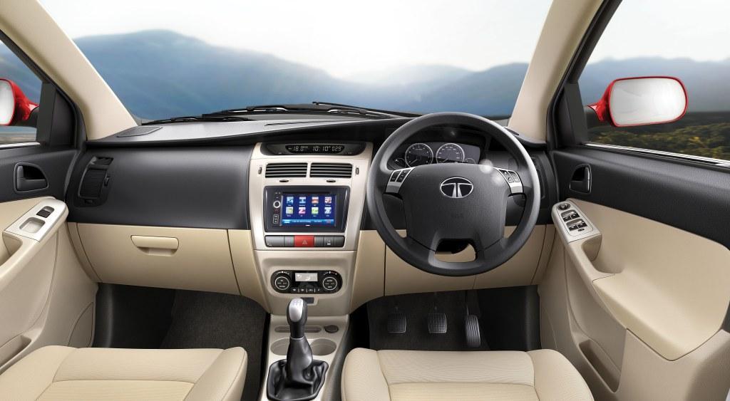 Tata Indica Vista D90 dashboard