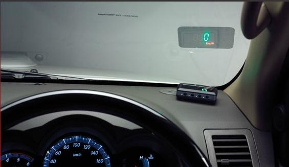 Toyota Fortuner HUD