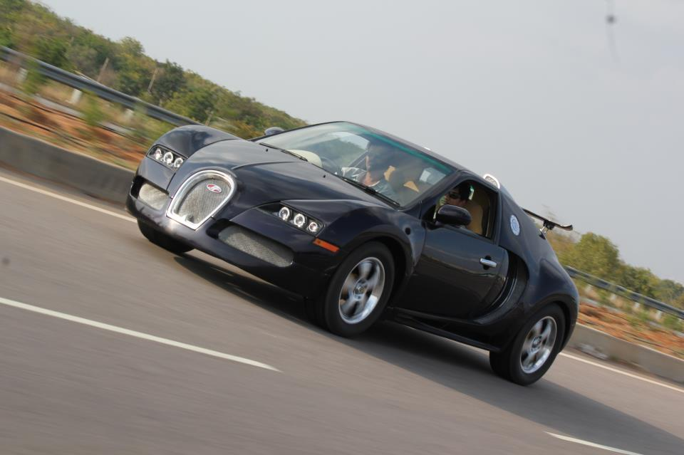 This Bugatti Veyron is actually a Maruti Esteem on msn india, toyota india, cobra india, ferrari india, triumph india, lamborghini india, kawasaki india, fiat india, mercedes-benz india, rolls-royce india, harley davidson india, lexus india, nissan india, jaguar india, bmw india, ducati india, audi india, lotus india, porsche india, skoda india,