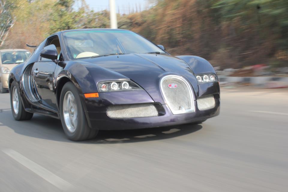 Buggati Veyron Replica front fascia