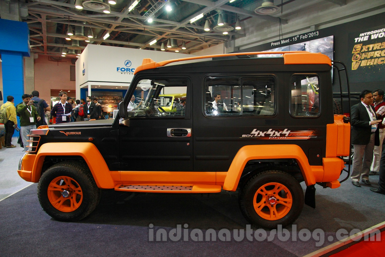 Bumper Guard For Suv >> Report - New Force Gurkha launched at Rs. 6.25 lakhs