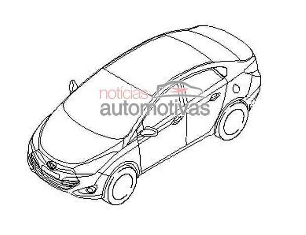 Hyundai HB20 front top view