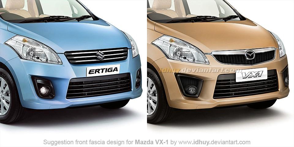 Mazda VX-1 vs Suzuki Ertiga