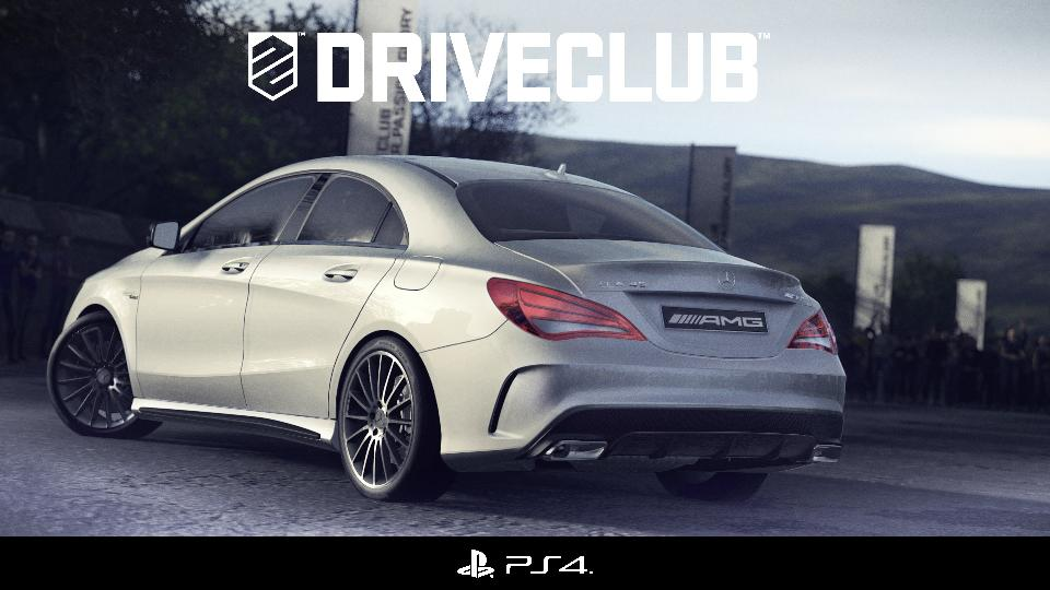 Mercedes CLA 45 AMG Driveclub game