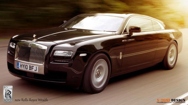 Rolls Royce Wraith Rendering