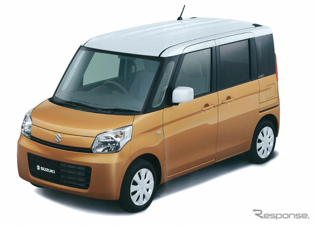 Suzuki Spacia orange