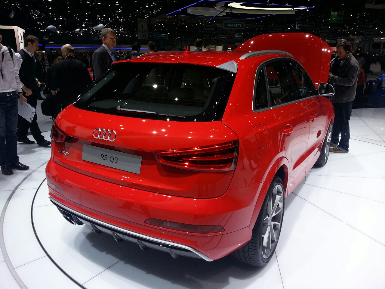 Geneva Live Audi Rs Q3 Marks First Rs Model In The Q Series