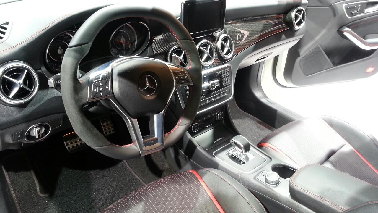2014 Mercedes Cla 45 Amg Interior