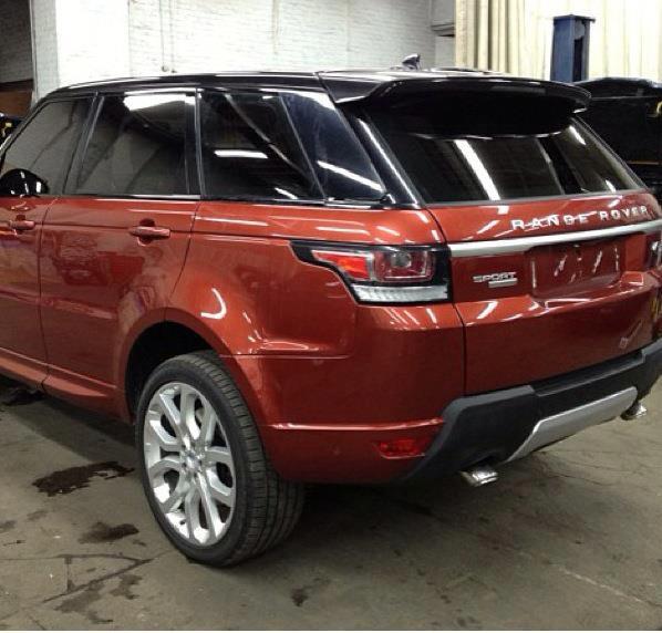 2014 Range Rover Sport rear