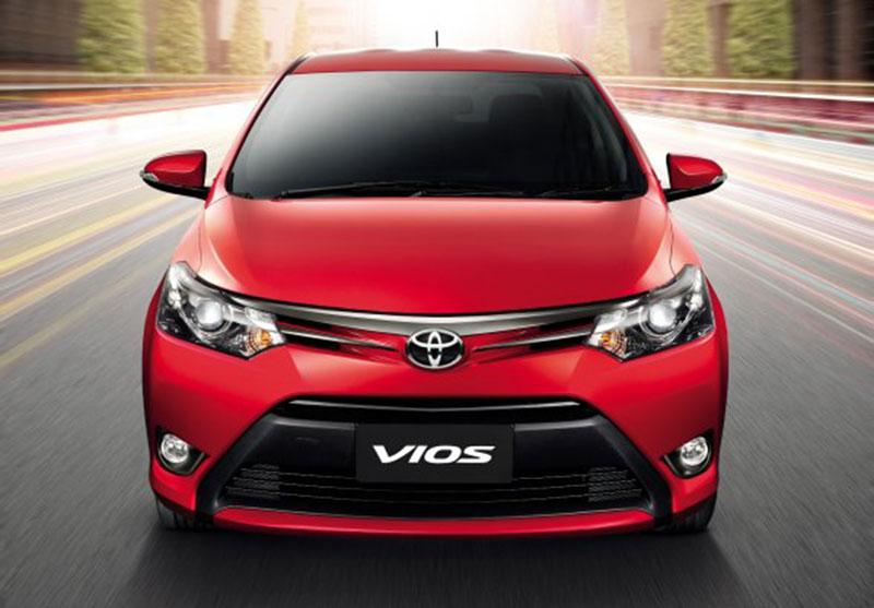 2014 Toyota Vios front