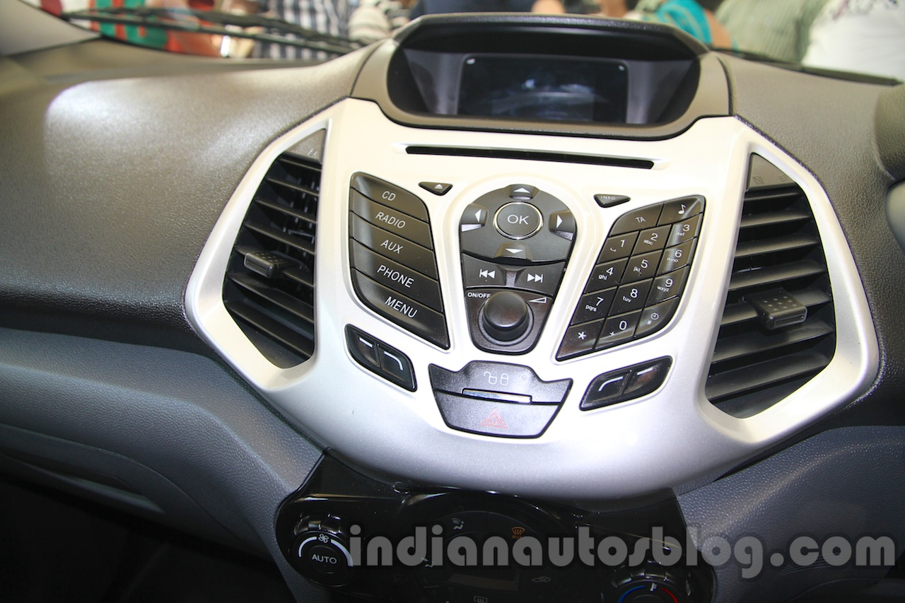 Ford Ecosport center console