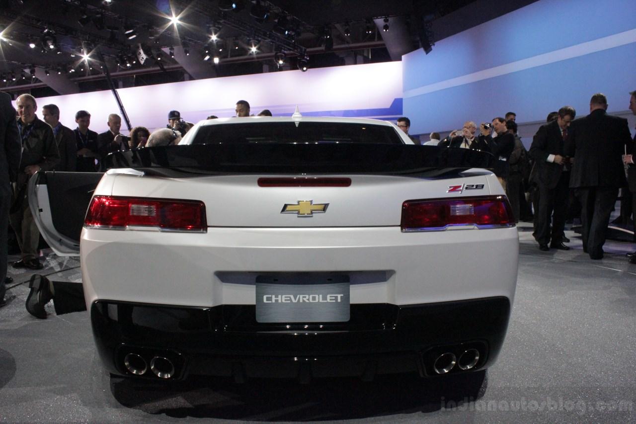 Chevrolet Camaro Z/28 rear fascia