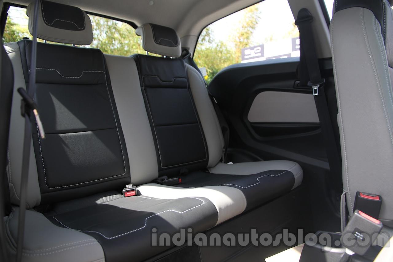 Mahindra Reva E2O rear seat
