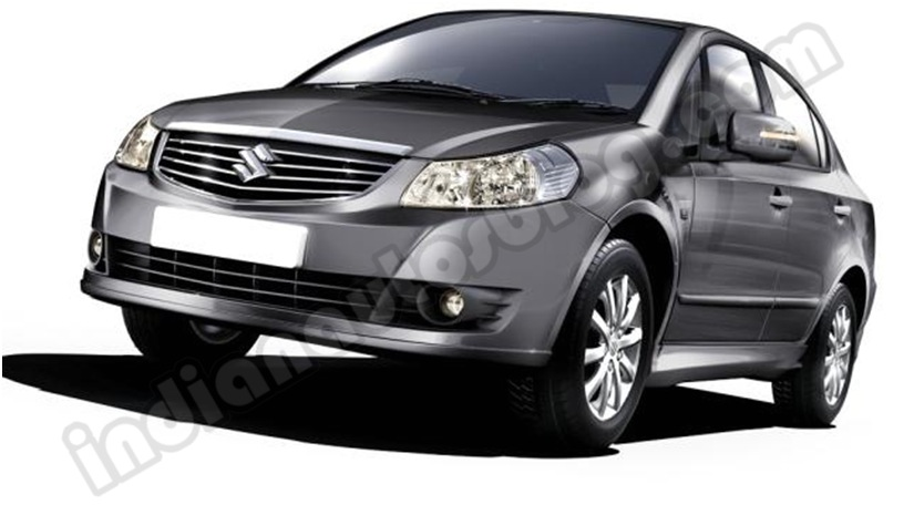 Maruti SX4 facelift serene grey