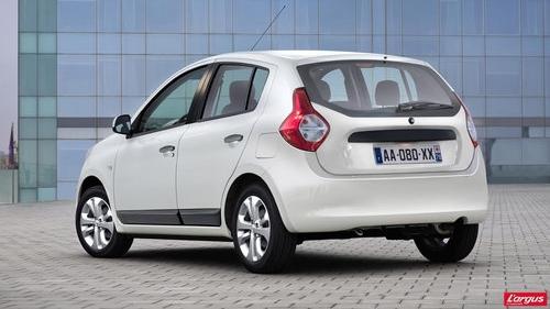 Dacia new small car rear