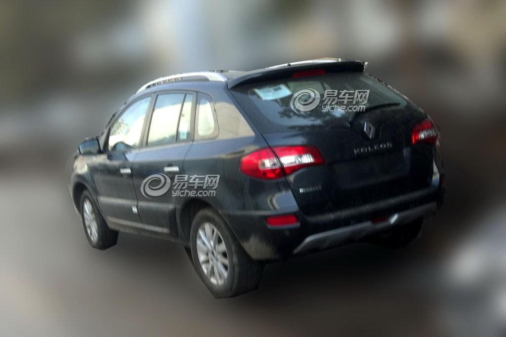 2014 Renault Koleos facelift rear spied