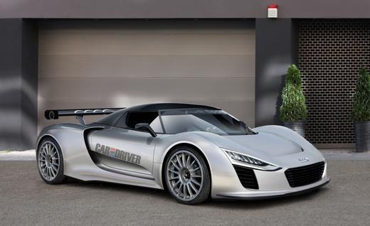 Audi R10 rendering