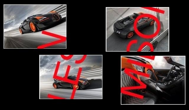 Bugatti Veyron Vitesse WRC limited edition leak